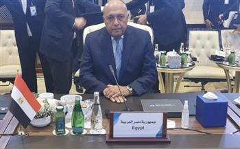 نص كلمة وزير الخارجية أمام مؤتمر «دعم استقرار ليبيا» في طرابلس