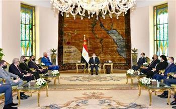 السيسي يستقبل رئيس وزراء ألبانيا ويعرب عن اعتزاز مصر بالروابط التاريخية بين البلدين