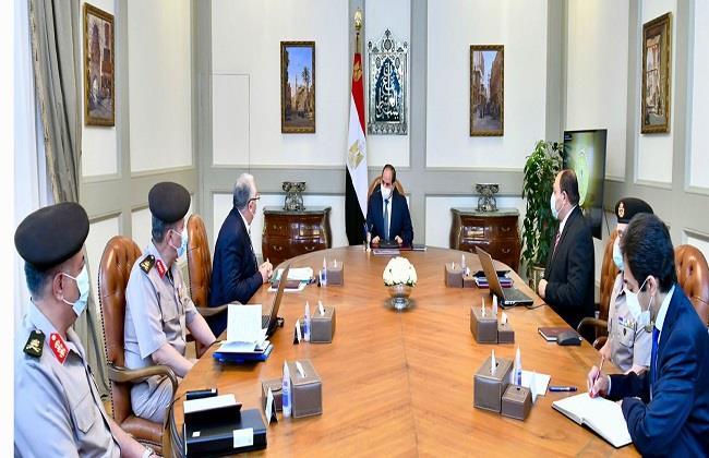 الرئيس السيسي يوجه بتعزيز جهود تنمية الثروة الحيوانية ومراكز تجميع الألبان