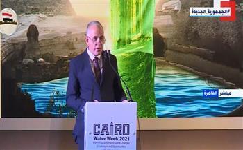 وزير الري: العالم أدرك أن المياه هي الحياة وعماد التنمية المستدامة
