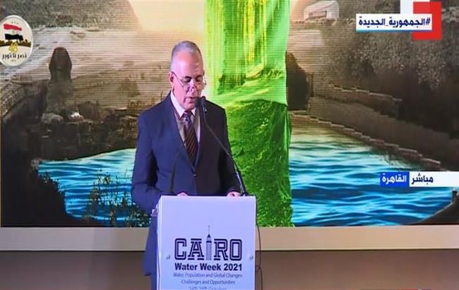 وزير الري: مصر ضمن المناطق شديدة الجفاف وتعتمد على النيل بأكثر من 97%