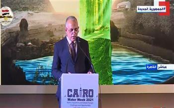 وزير الري: المياه هي الإرث المشترك للإنسانية وأهم حق من حقوق الإنسان