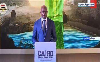 وزير الري السنغالي: لابد من التحرك العالمي بشكل طارئ لضمان الأمن المائي