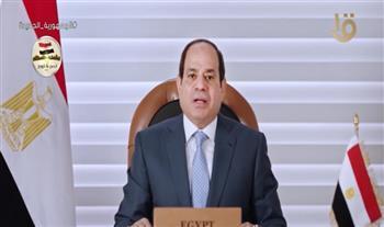 الرئيس السيسي: إنشاء مشروعات غير مدروسة من أبرز أسباب التحديات المائية
