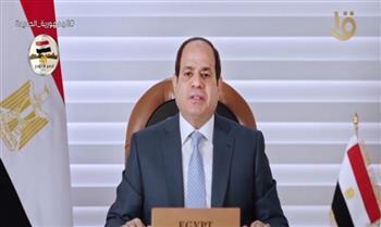 الرئيس السيسي: 4 محاور أساسية لاستراتيجية مصر لإدارة الموارد المائية