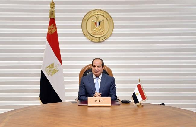 نص كلمة الرئيس السيسي أثناء فعاليات الدورة الرابعة من أسبوع القاهرة للمياه