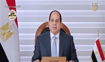 الرئيس للمشاركين بأسبوع القاهرة للمياه: أدعوكم لإطلاق حوارات معمقة عن مختلف أبعاد قضايا المياه
