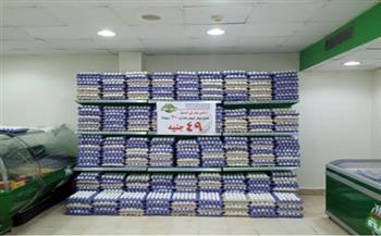 بعد تراجع أسعاره .. طرح كراتين بيض جديدة في المجمعات الاستهلاكية |شاهد