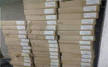 ضبط 20 ألف قطعة أدوات منزلية مجهولة المصدر بمخزن غير مرخص بمدينة نصر