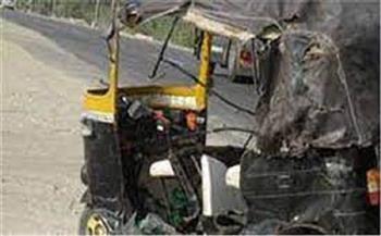 التحقيق في إصابة 5 أشخاص بحادث انقلاب «توك توك» ببنى سويف