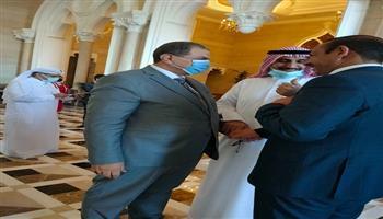 سعفان يبحث مع نظيره العراقي أوجه التعاون المشترك بين البلدين