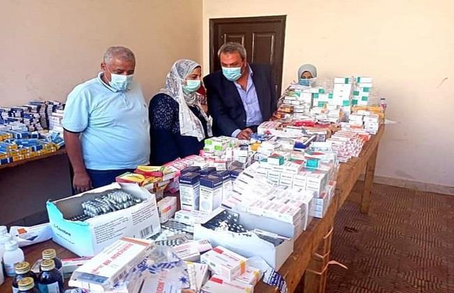 قوافل جامعة طنطا الطبية تساهم فى «حياة كريمة» بـ فحص 1161 حالة