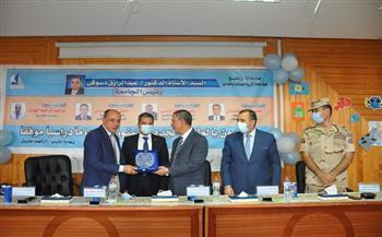 """لقاء تعريفي للطلاب الجدد بـ""""علوم الثروة السمكية"""" تنظمه جامعة كفر الشيخ"""