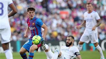 ريال مدريد يضرب برشلونة بالهدف الثاني