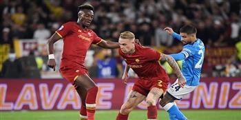 التعادل يحسم نتيجة مباراة نابولي وروما في الدوري الإيطالي