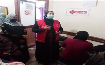 فحص 6423 سيدة ضمن مبادرة «صحة المرأة» بكفر الشيخ