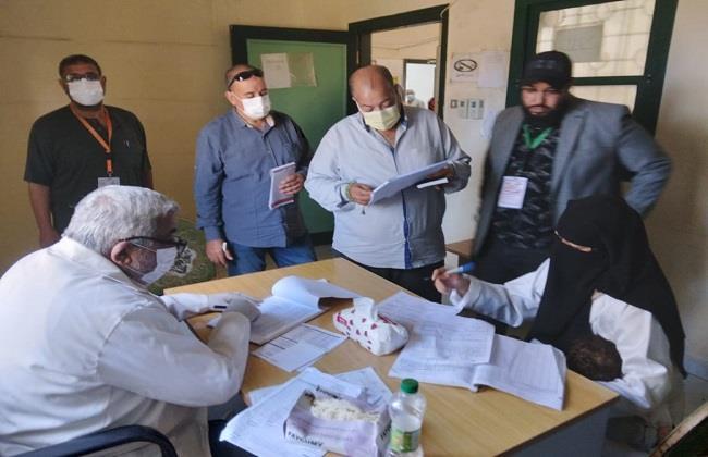 """""""صحة كفر الشيخ"""" تنظم قافلة طبية بقرية المنشية المستجدة بمركز فوة"""