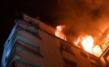 احتراق شقة وإصابة مالكها في انفجار أنبوبة بشرق الإسكندرية