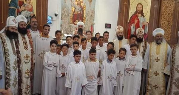 لجنة الشماسية للأقباط الأرثوذكس تُقيم يوما روحيا في أطفيح
