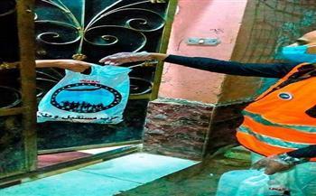 مستقبل وطن المنيا يوزع ٨ آلاف كيلو لحوم على الأهالي في عيد الأضحى