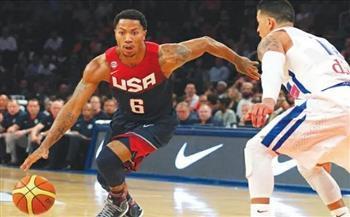 أول خسارة منذ عام 2004..  هزيمة فريق كرة السلة الأمريكي أمام فرنسا