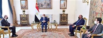 بسام راضى: الرئيس السيسى و«الصفدى» يستعرضان آخر مستجدات الأوضاع فى المنطقة