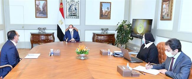 الرئيس السيسى يتابع جهود توطين الصناعة والتوسع فى مخطط إنشاء المجمعات الصناعية