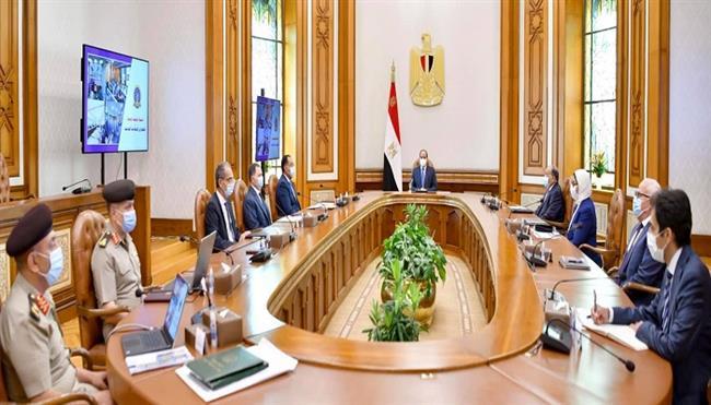 الرئيس السيسى يتابع الموقف التنفيذى لإنشاء الشبكة الوطنية الموحدة للطوارئ والسلامة العامة