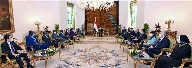 بسام راضى: الرئيس أكد على استمرار مساعى مصر لتحقيق الاستقرار فى جنوب السودان
