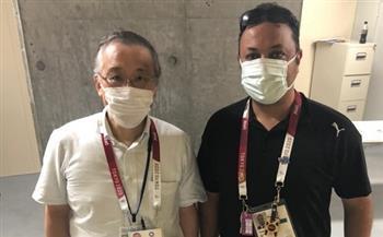 منسق حالات كورونا بأولمبياد طوكيو يشيد باللجنة الطبية لبعثة مصر