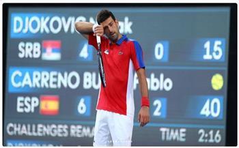 طوكيو 2020..رقم سلبي لـ «دجوكوفيتش» بعد خسارته «برونزية» منافسات التنس