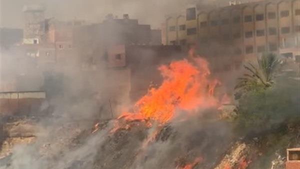 بعد 10 ساعات كاملة.. إخماد حريق عزبة خير الله وخسائر مادية فادحة