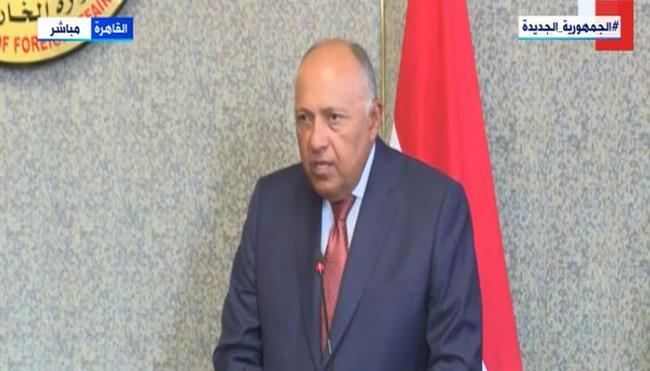 سامح شكري: مصر حريصة على تكثيف التعاون مع التشيك