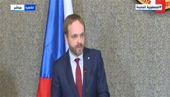 وزير الخارجية التشيكي يكشف تفاصيل لقائه بالرئيس السيسي