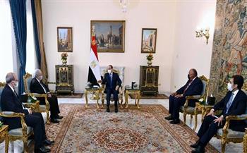 الرئيس السيسي: موقف مصر ثابت في التمسك بحقوقها التاريخية من مياه النيل