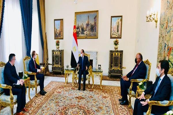 بسام راضي: السيسي يعرب عن اهتمام مصر البالغ بتطوير التعاون مع التشيك