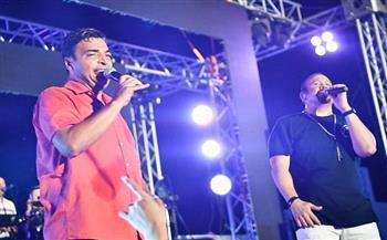 هشام عباس وحميد الشاعري يشعلان حفلا بالساحل الشمالي