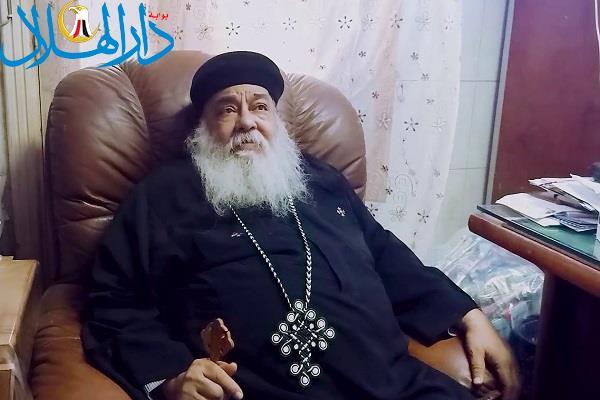الكنيسة تنعى القمص يونان رزق شيخ كهنة شبرا الخيمة