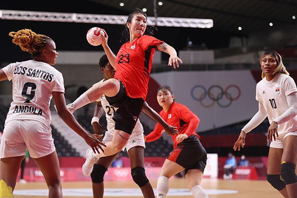 طوكيو 2020.. أنجولا تتعادل مع كوريا الجنوبية في كرة اليد سيدات