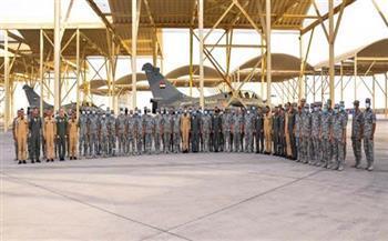 القوات الجوية تصل قاعدة الظفرة بالإمارات للمشاركة في تدريب «زايد-3»