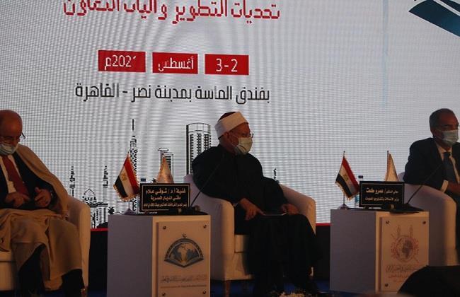 المفتي للرئيس السيسي: ندعم مواقفكم الحكيمة في التعامل مع قضية سد النهضة