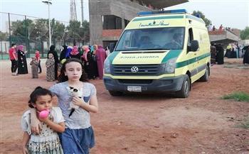إصابة مراقبة بأزمة قلبية بلجنة مدرسة المحلة الثانوية