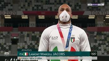طوكيو 2020.. الإيطالي جاكوبس يتوج بذهبية 100 متر عدو