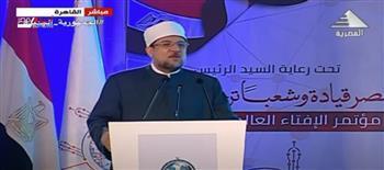 وزير الأوقاف: الجماعات الإرهابية تشوه جميع الرموز الوطنية والدينية
