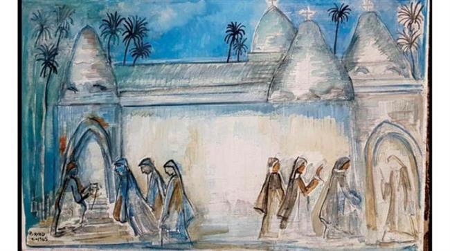 """ثقافة كفر الشيخ يقدم معرض فن تشكيلي للفنان راغب عياد """"أونلاين"""""""