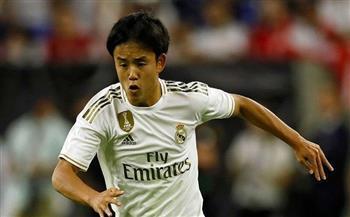ريال مدريد يقرر تجديد عقد الياباني كوبو حتى نهاية الموسم
