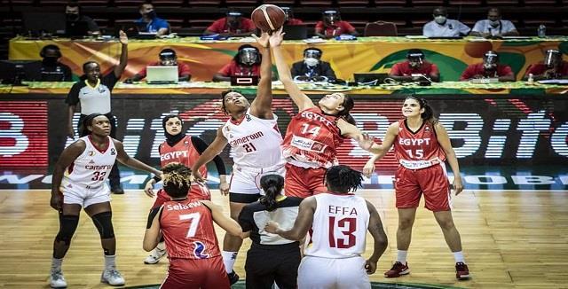منتخب سيدات السلة يخسر أمام الكاميرون بأمم إفريقيا